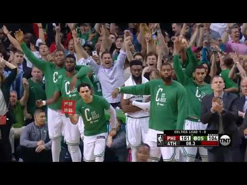 Celtics Shows The 76ers They have No Chance!(Rozier Coming In Clutch)