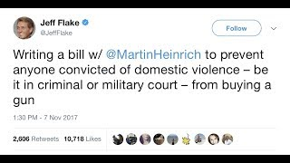 Jeff Flake Is A Complete Idiot