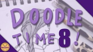 ✎ DOODLE TIME #8! || Trying A New Pen ✎ (Megs Creations )