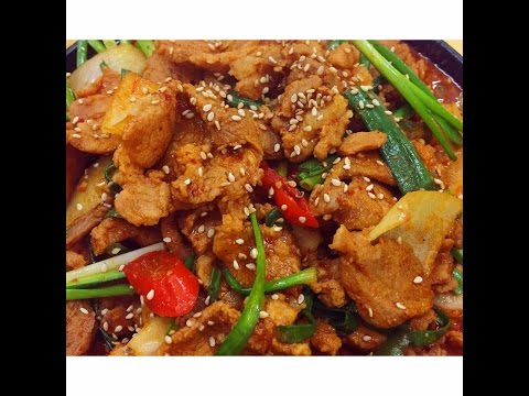 How to cook Spicy pork- Korean style