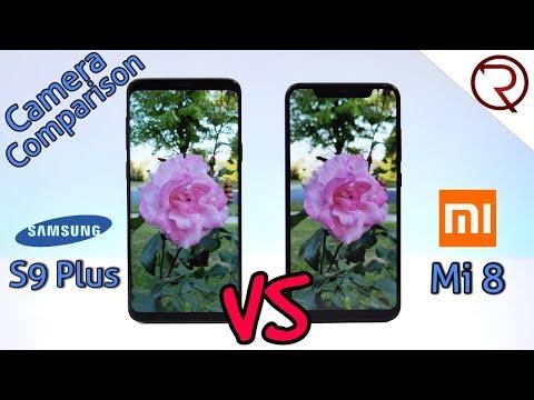 Xiaomi Mi 8 VS Samsung Galaxy S9+ CAMERA COMPARISON!