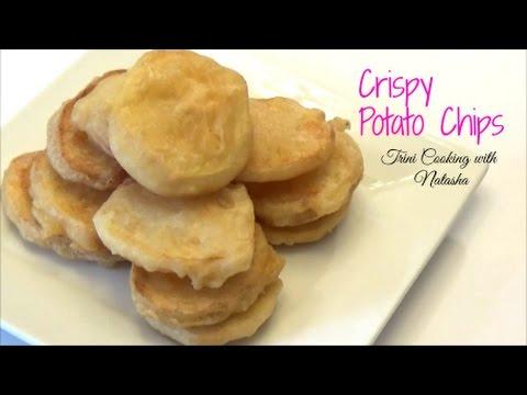 Crispy Batter Fried Potato Chips - Episode 402