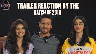 Download The First Report Card | Student Of The Year 2 | Trailer Reaction | Tiger, Tara & Ananya Video