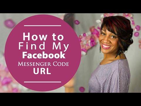 How To Find My Facebook Messenger Code URL