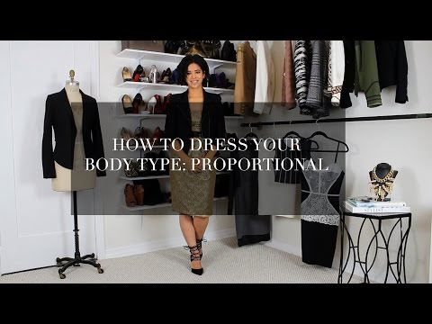 How to Dress Your Body Type: Proportional
