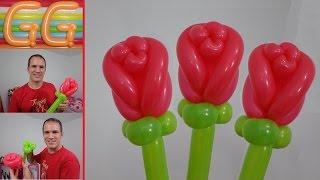 Como Hacer Una Flor Con Globos De Colores Playithub Largest Videos Hub - Como-hacer-flores-de-globos