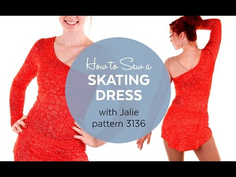 How to Make a Skating Dress (Jalie Pattern 3136)