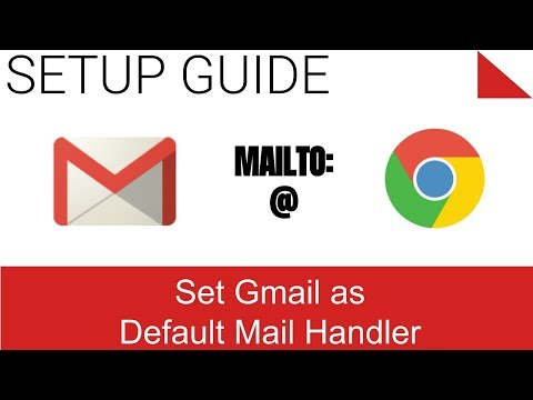 Set Gmail as the Default Email Handler