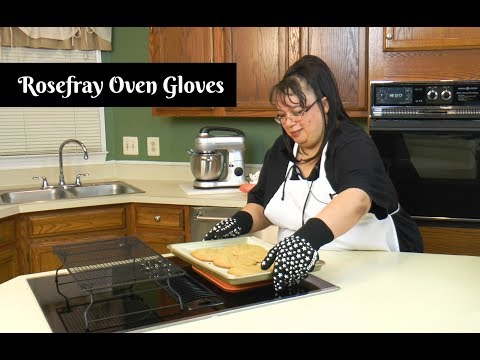 Rosefray Heat Resistant Oven Gloves ~ Essential Kitchen Tools ~ Amy Learns to Cook