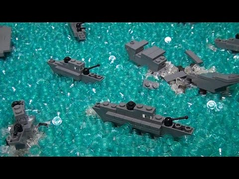 Micro LEGO WWII Battle of Midway  – BrickFair Virginia 2015