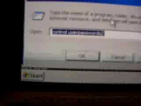 Reset user password for windows xp login