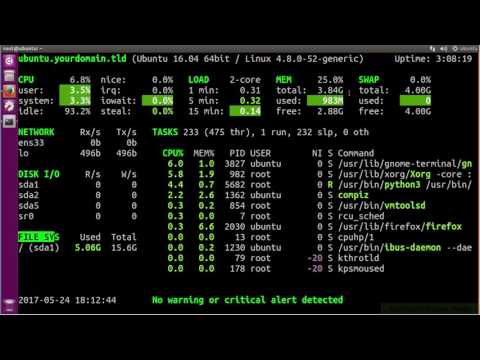 Glances Installation -A Real Time Linux System Monitoring Tool