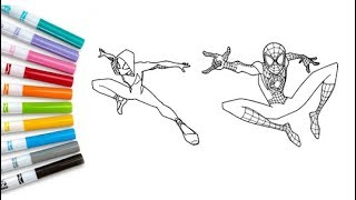 Spiderman Coloring Pages Videos 9videos Tv
