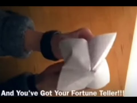 How To Make An Origami Fortune Teller - How To Everything