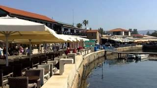 Kato Paphos, Cyprus - shops by the port area