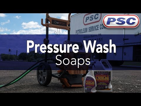 Pressure Washing with Purple Power Cleaner & Degreaser