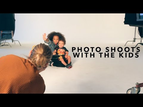 Vlog: Photoshoots with the Kids