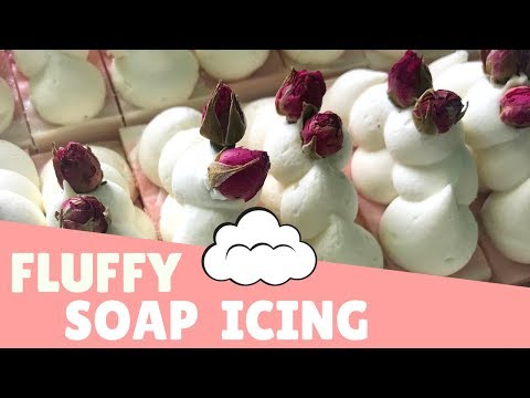 How to Make Fluffy Soap Icing ☁️ | GYPSYFAE CREATIONS