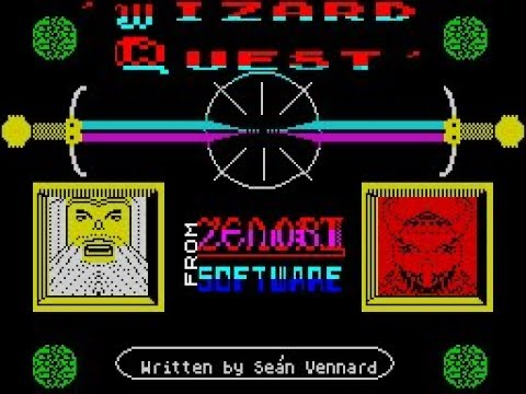 Wizard Quest Review for the Sinclair ZX Spectrum by John Gage