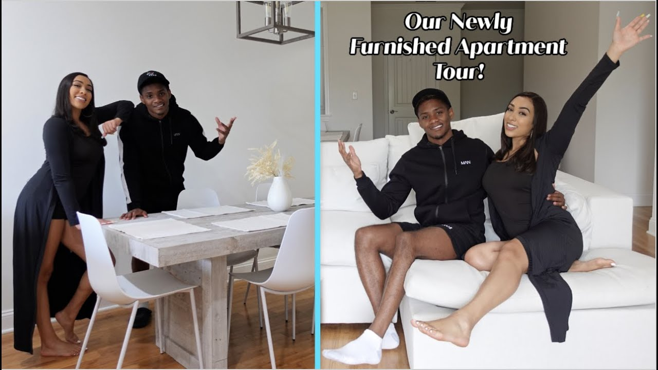 Our Fully Furnished Modern Luxury Apartment Tour!
