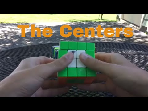 How To Solve The 4x4 Rubik's Cube - Part 1 - The Centers