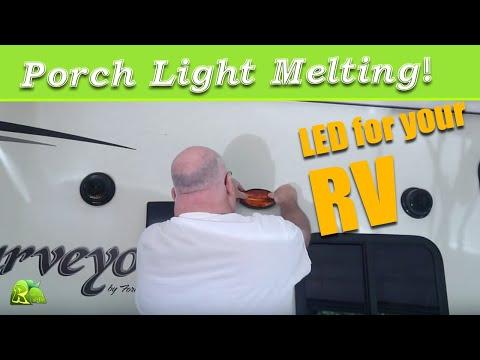 RV Hack: Install LED Porch Light