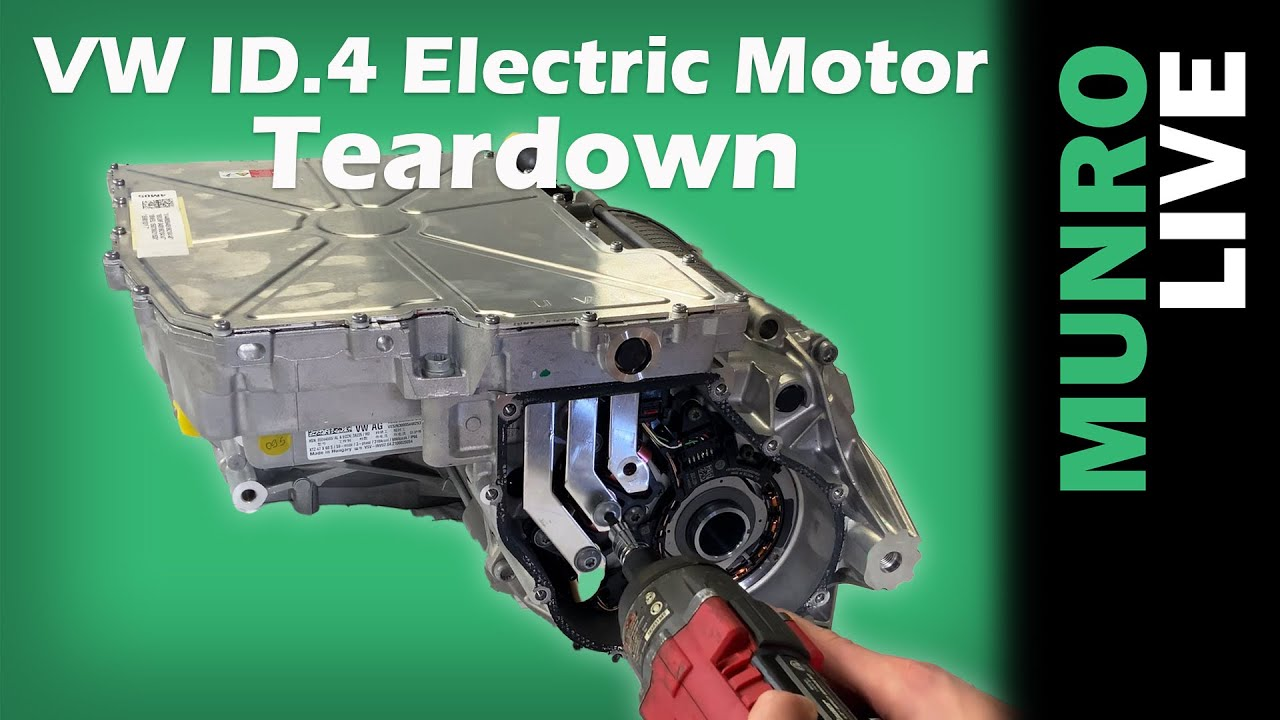 Volkswagen ID.4: Electric Motor Teardown and Analysis