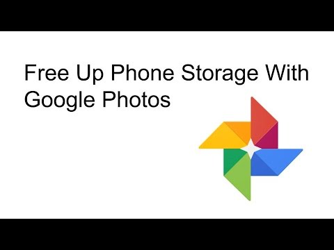 Free Up Space On Your Phone - Google Photos