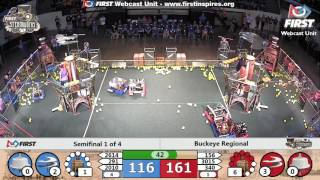 Semifinal 1 - 2017 Buckeye Regional