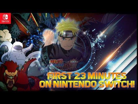 【Naruto Ultimate Ninja Storm 3】Nintendo Switch First 23 Minutes!