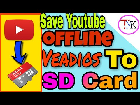 How to directly save youtube offline videos to SD card | See Offline youtube video in Memory Card