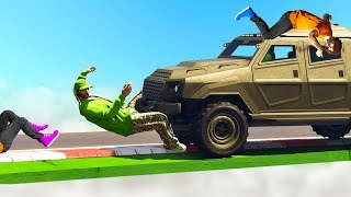 INSURGENT vs. DEADLY RUNNERS! (GTA 5 Funny Moments)