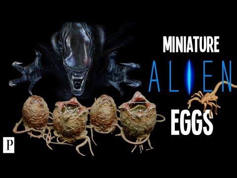 How To Make Alien Eggs For Miniatures & Terrain Scenery