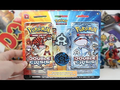 Opening A Double Crisis Team Aqua Blister Pack!!