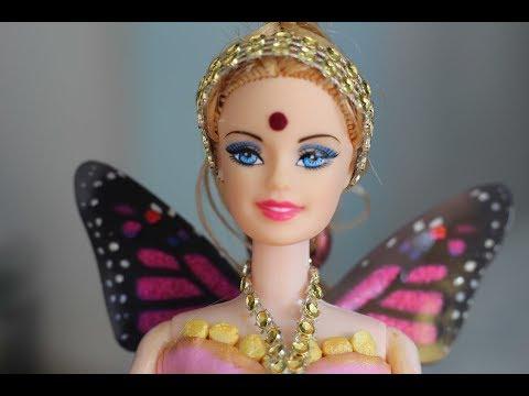 How to make a cute fairy princess cake @home  -  very easy