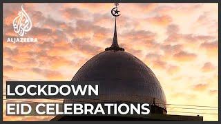 Muslims' Eid al-Fitr holiday celebrated under lockdown
