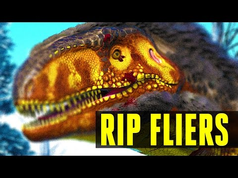 MEGALOSAURUS = END OF FLIERS? How to tame/Everything you need to know! Ark: Survival Evolved 252