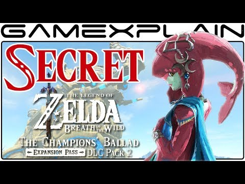 The Champions' Ballad's Secret Dialogue in Zelda: Breath of the Wild (DLC Pack 2)