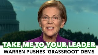 Warren: The 'Grassroots' Lead The Democratic Party