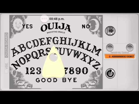 Spirit Spells My Name !!! Ouija Board App.