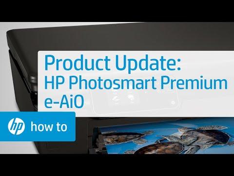 Product Update - HP Photosmart Premium e-All-in-One Printer - C310a
