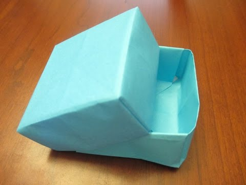 How to make an Origami Box with Lid
