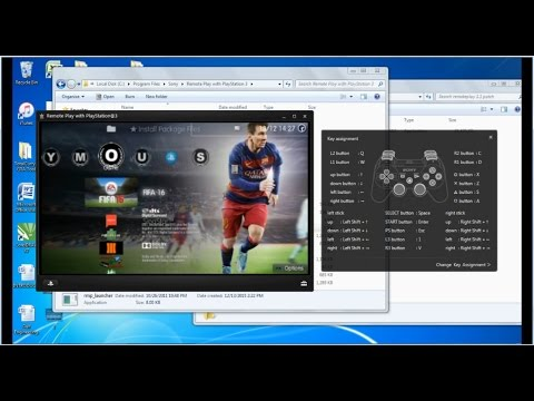 Remote Play for non Sony PC's: MAC, Windows 7, 8 and 10, How to play GTA V and FIFA 16.