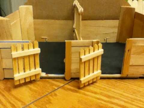 How To Make a Schleich Barn