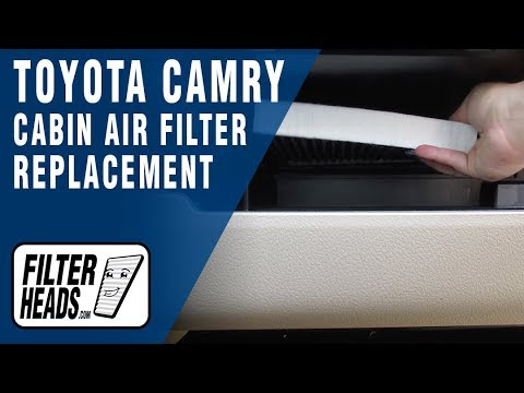 How to Replace Cabin Air Filter 2012 Toyota Camry