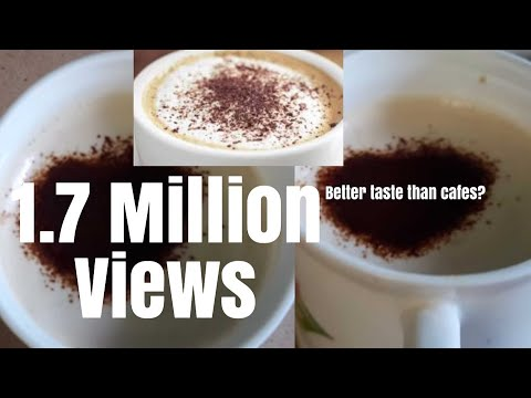 How to make Indian Cappuccino at home easily | No Coffee Machine | Beaten Coffee