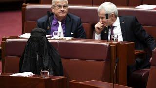 Burqa-clad Australian Senator Sparks Backlash