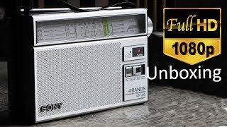 Sony ICF-J40 Unboxing in Full HD