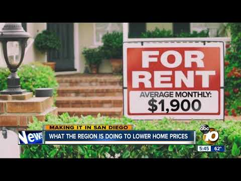 Making It in San Diego: What's being done to lower housing prices?