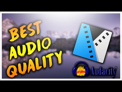 How To Improve Audio Quality In Sony Vegas Pro 14 with Audacity - Clear and Smooth Audio Tutorial